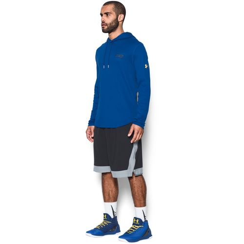 Under Armour Men's SC30 Thermal Long Sleeve Hooded Basketball Shirt - view number 5