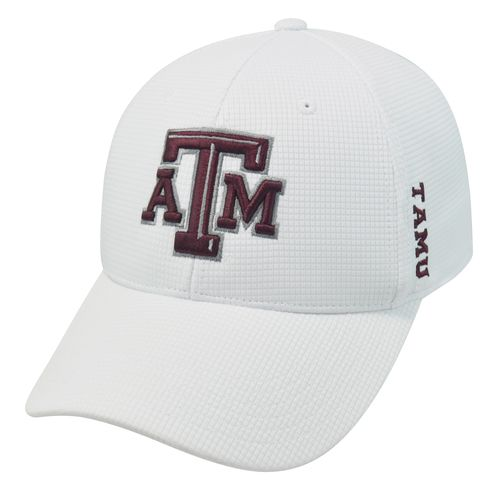 Top of the World Men's Texas A&M University Booster Plus Flex Cap - view number 1