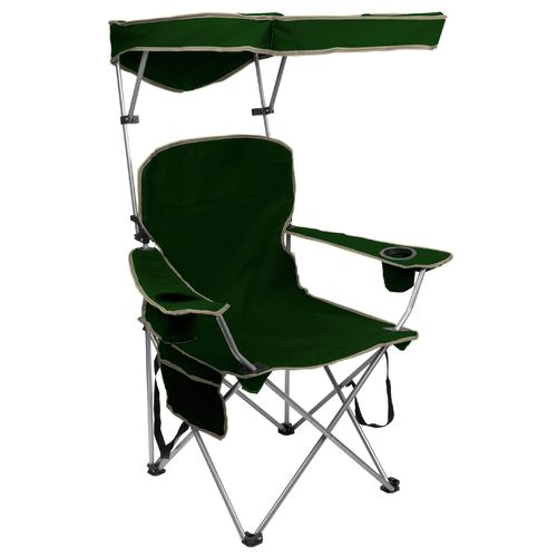 Quik Shade Adjustable Canopy Folding Camping Chair
