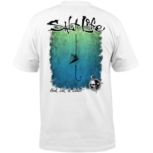 Salt Life Men's Hook Line and Sinker Short Sleeve T-shirt