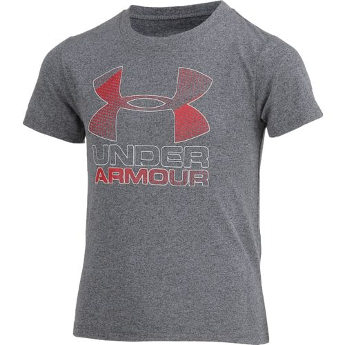 Under Armour Boys' Hybrid Big Logo Short Sleeve T-shirt - view number 3