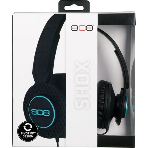 Display product reviews for 808 Audio SHOX On-Ear Wired Headphones