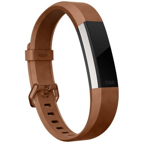 Fitbit Leather Accessory Band for Fitbit Alta HR Activity Tracker