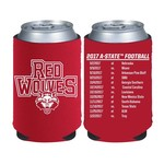 Kolder Kaddy Arkansas State University 2017 Football Schedule 12 oz Can Insulator - view number 1