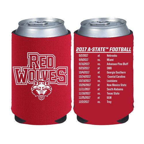 Kolder Kaddy Arkansas State University 2017 Football Schedule 12 oz Can Insulator