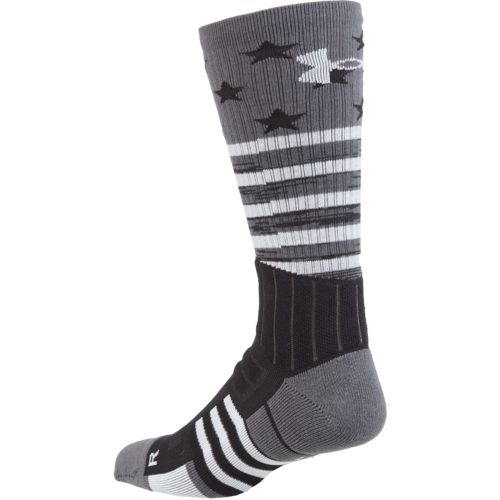 Under Armour Men's Unrivaled Stars and Stripes Crew Socks - view number 2