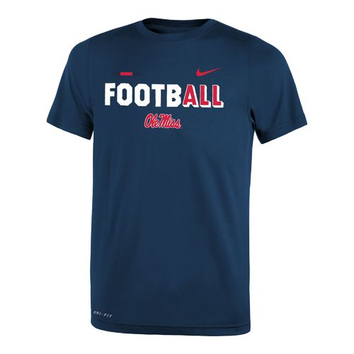 Nike Boys' University of Mississippi Legend Football T-shirt - view number 1