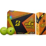 Bridgestone Golf e6 Straight Distance Soft Golf Balls 12-Pack - view number 1