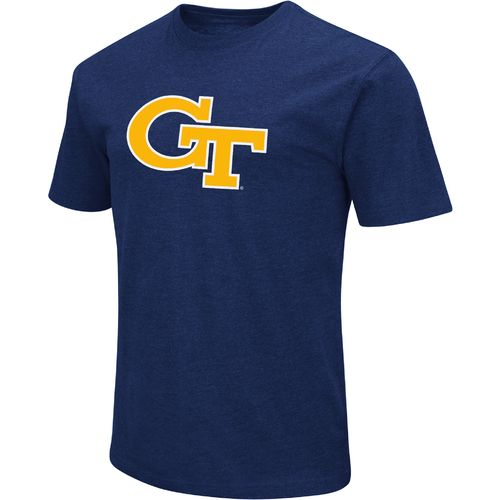 Colosseum Athletics Men's Georgia Tech Logo Short Sleeve T-shirt - view number 1