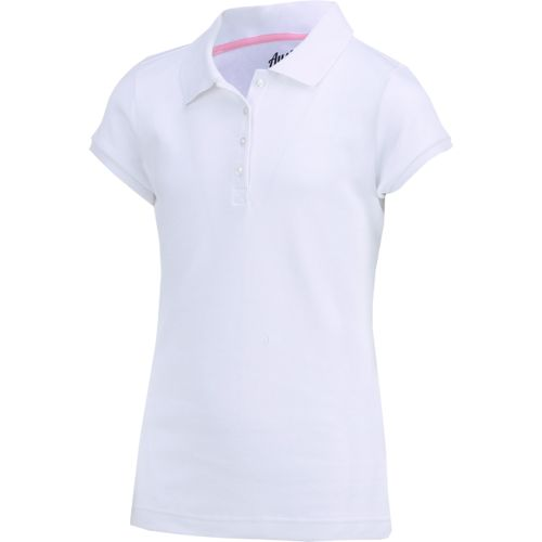 Austin Trading Co. Girls' Uniform Short Sleeve Interlock Polo Shirt - view number 3