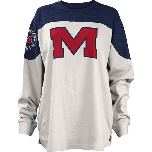 Three Squared Juniors' University of Mississippi Cannondale Long Sleeve T-shirt