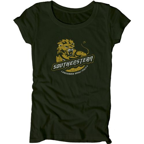 Blue 84 Juniors' Southeastern Louisiana University Mascot Soft T-shirt