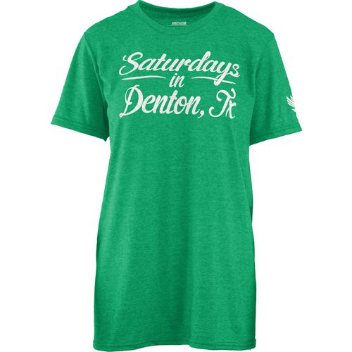 Three Squared Juniors' University of North Texas Saturday T-shirt
