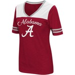 Colosseum Athletics Women's University of Alabama Twist 2.1 V-neck T-shirt - view number 1