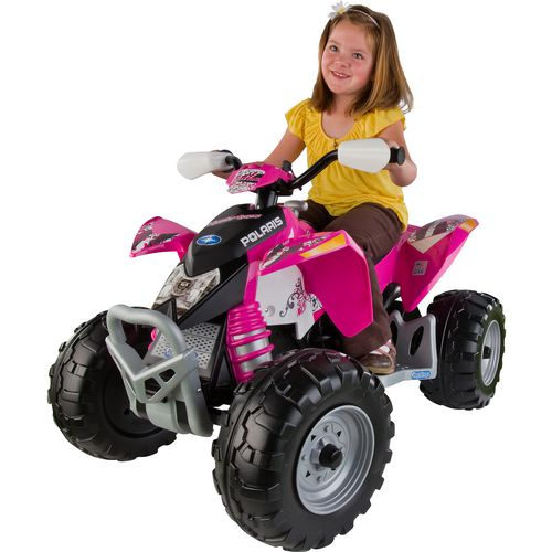 Peg Perego Girls' Polaris Outlaw 12 V Ride-On Toy