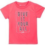 Under Armour Girls' Give It Your All Short Sleeve T-shirt - view number 1