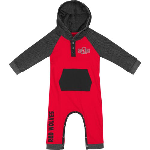Colosseum Athletics Infant Boys' Arkansas State University Truffle Ruffle Onesie
