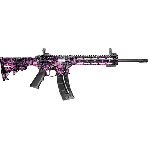 Smith & Wesson M&P15-22 Sport M-LOK Muddy Girl .22 LR Semiautomatic Rifle