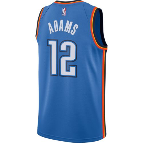 Nike Men's Oklahoma City Thunder Steven Adams Icon Edition Swingman Jersey