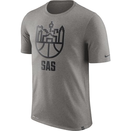Nike Men's San Antonio Spurs Basketball Cityscape T-shirt