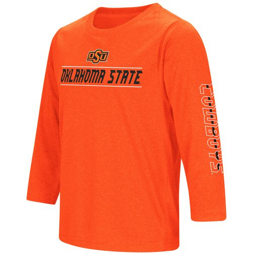Colosseum Athletics Boys' Oklahoma State University BF Long Sleeve T-shirt