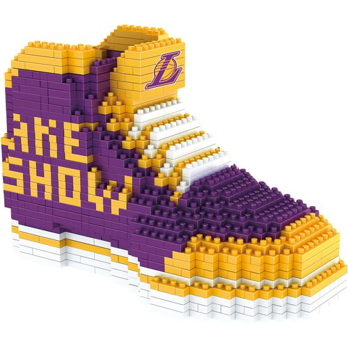 Forever Collectibles Los Angeles Lakers BRXLZ 3-D Sneaker Puzzle