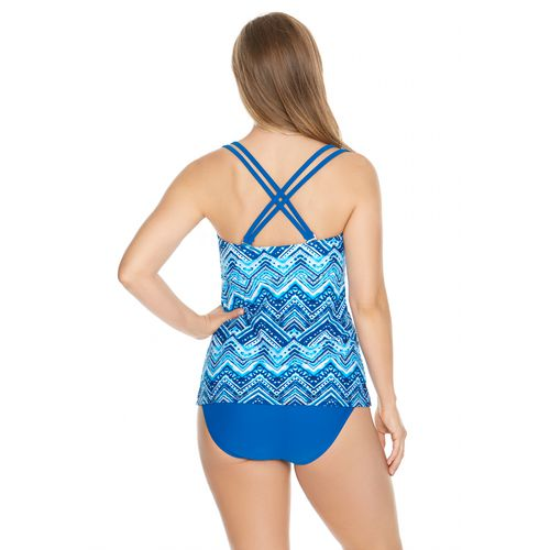 Sweet Escape Women's Labyrinthine Molded Tankini Swim Top - view number 1