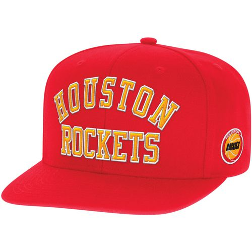 Mitchell & Ness Men's Houston Rockets Wordmark Cap