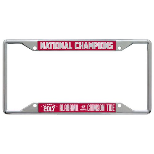 Stockdale University of Alabama 2017 CFP National Champs License Plate Frame