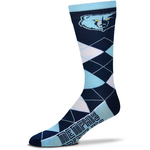For Bare Feet Memphis Grizzlies Argyle Socks