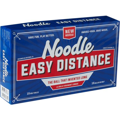Display product reviews for Noodle Easy Distance Golf Balls 15-Pack