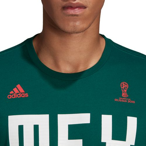 adidas Men's Mexico T-shirt - view number 4