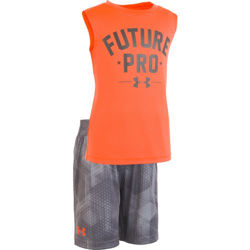 Under Armour Boys' Hexascope Future Pro Tank Top and Shorts Set