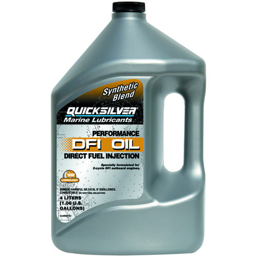 Quicksilver 4-Liter Performance DFI Outboard Oil - view number 1