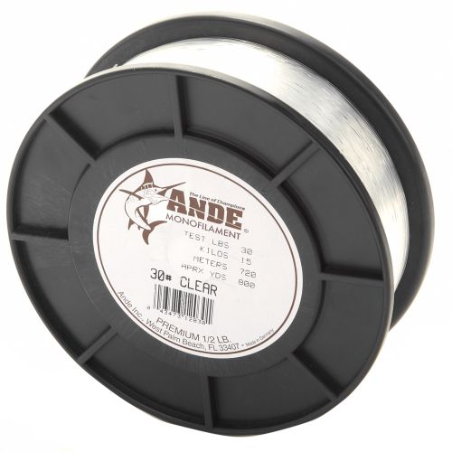 ANDE® Premium 30 lb. - 800 yards Monofilament Fishing Line