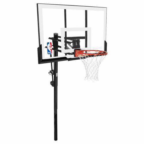 "Spalding 54"" Acrylic Inground Basketball Hoop"