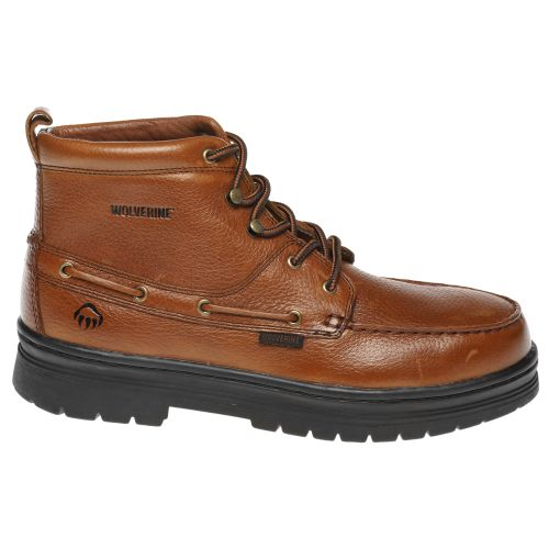Display product reviews for Wolverine Men's Moc Toe Steel-Toe EH Chukkas