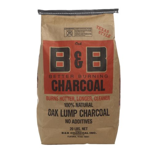 B&B Charcoal Co. 20 lb. BNB Lump Charcoal