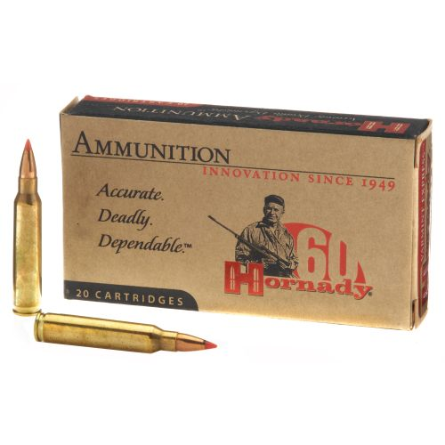 Hornady V-MAX™ .223 Remington 55-Grain Rifle Ammunition