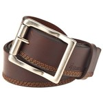 Browning Men's Triple-Stitched Leather Belt