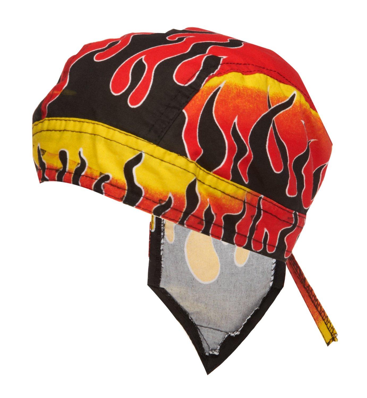 ZANHeadgear® Flydanna® Reverse Flames Bandanna