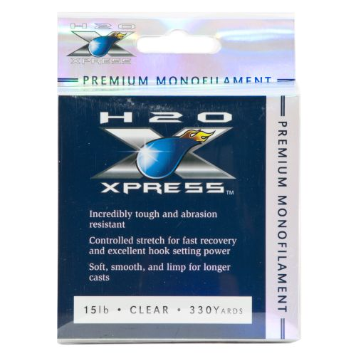 H2O XPRESS® Premium 15 lb. - 330 yards Monofilament Fishing Line