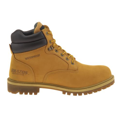 Brazos  Men s 6  Waterproof Nubuck Work Boots