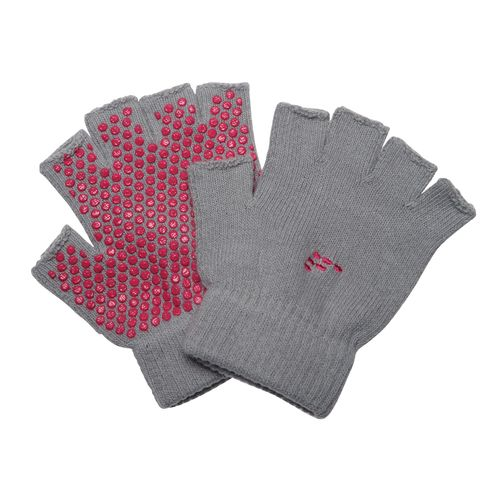 BCG Nonslip Fingerless Yoga Gloves