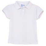Austin Clothing Co.® Girls' Pique Uniform Short Sleeve Polo