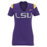 Nike Women's Louisiana State University Football Replica T-shirt
