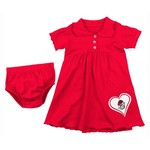 Colosseum Athletics Girls' University of Georgia Infant Collection Preppy Dress