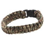 Bison Designs Paracord Side-Release Cobra Medium Survival Bracelet