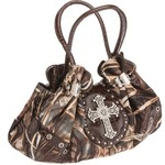 Realtree Women's Max-4 Studded Cross Satchel