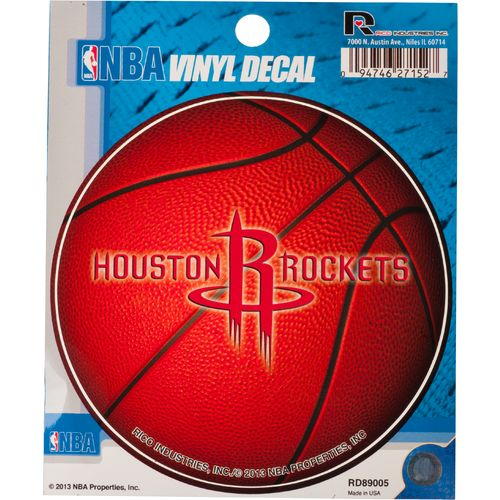 Tag Express Houston Rockets Round Decal